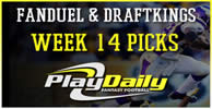 NFL Week 14 FanDuel and DraftKings Picks
