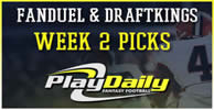 NFL Week 2 Fantasy Picks