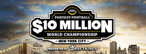 2016 DraftKings Fantasy Football World Championship
