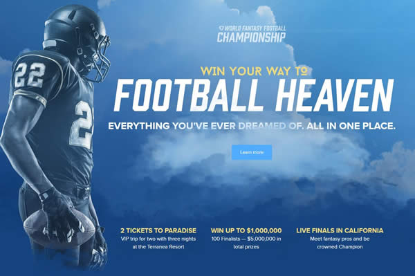 FanDuel $5 Million Fantasy Football Contest